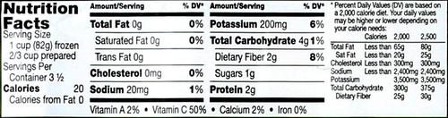 Broccoli Florets Premium Organic 10 Ounce 283 Gram