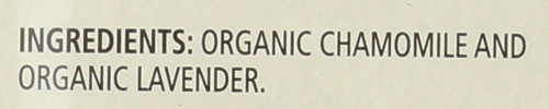 Herbal Tea Chamomile + Lavender 20 Each 0.9 Ounce