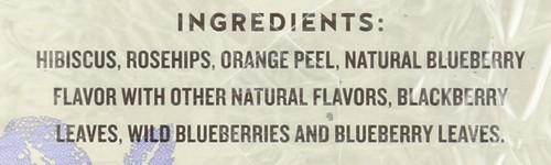Herbal Tea True Blueberry Tea 20 Each 1.6 Ounce