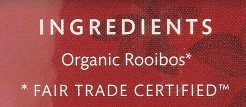 Organic Herbal Tea Rooibos - Original  16 Each 1.1 Ounce
