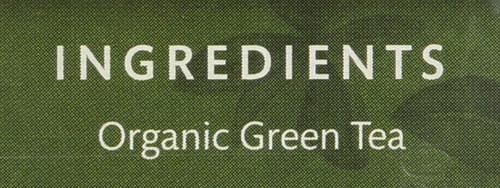 Organic Green Tea Premium Japanese Green - Original 16 Each 1.1 Ounce