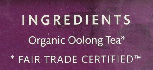 Organic Oolong Tea Oolong - Original 16 Each 1.1 Ounce