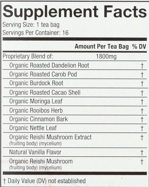 Organic Mushroom Wellness Tea Reishi Detox 16 Each 1 Ounce