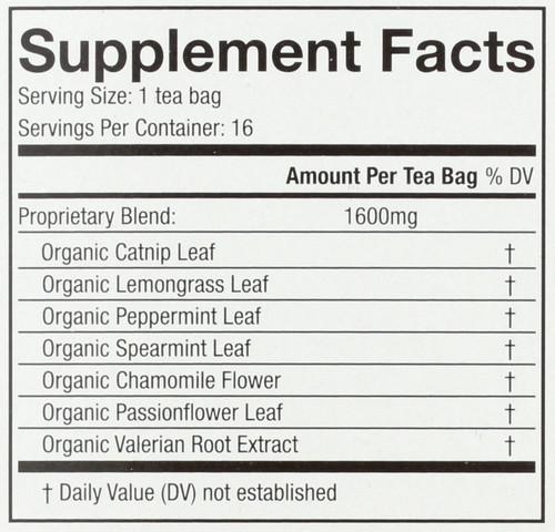 Organic Wellness Tea Rest Assured*  16 Each 0.9 Ounce