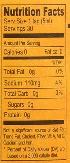 Hot Sauce Chili Garlic 5 Fl Oz  150 Milliliter