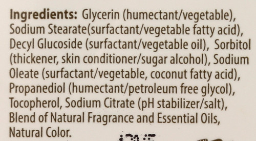 Bar Soap Vitamin E 4 Ounce 113 Gram