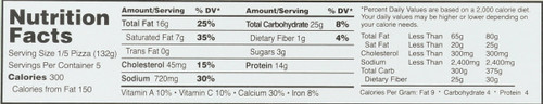Sausage Thin Crust  23.29 Ounce 660 Gram