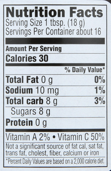Superfruit® Just Fruit Spread  10 Ounce 283 Gram