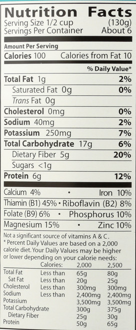 Beans,Og2,Cannellini  29 Ounce 822 Gram