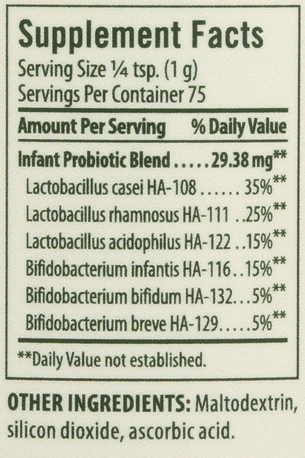 Toddlers Probiotic  2.64 Ounce 75 Gram