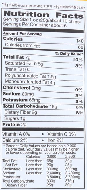 Tortilla Chips Multigrain 5.5 Ounce 155 Gram