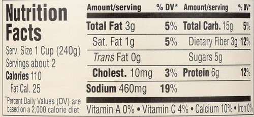Soup Cream Of Chicken 14.5 Ounce 411 Gram