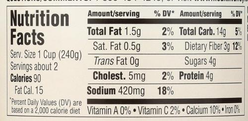 Soup Cream Of Mushroom 14.5 Ounce 411 Gram