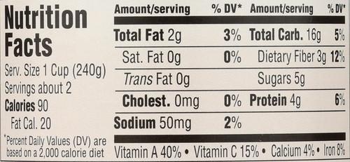 Soup Minestrone No Salt 15 Ounce 425 Gram