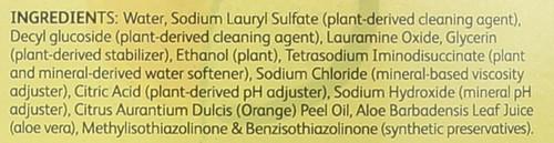 Dishwashing Liquid Valencia Orange 25 Fl Oz  739 Milliliter