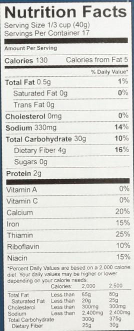 All Purpose Baking Mix Gluten Free 24 Ounce 680 Gram