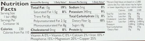 Larabar Cashew Cookie 1.7 Ounce 48 Gram