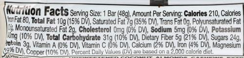 Larabar Coconut Cream Pie 1.7 Ounce 48 Gram