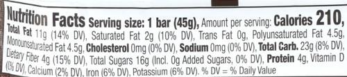 Bar-Chocolate Coconut Chew            1.6 Ounce 45 Gram