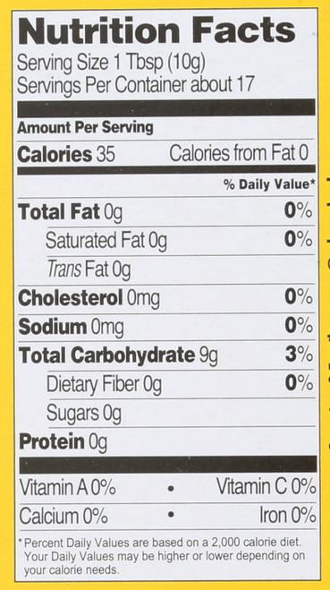 Tapiocal Starch Organic 6 Ounce 170 Gram