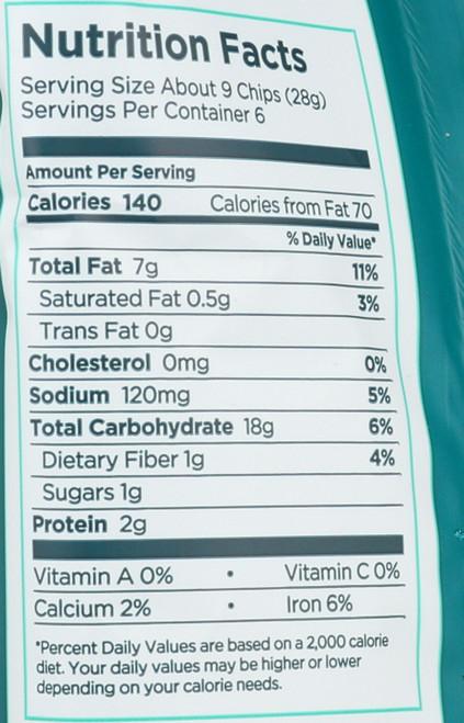 Rice Chips Sesame Seaweed 6 Ounce 170 Gram