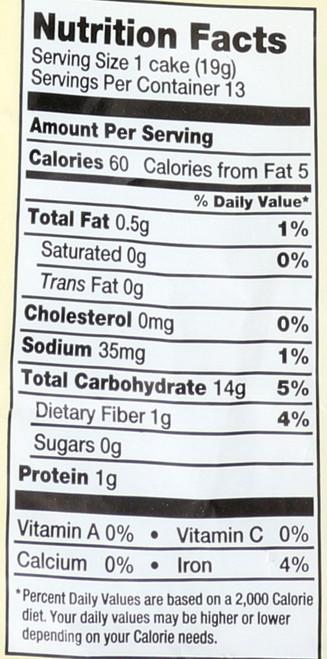 Rice Cakes Wild Rice 8.5 Ounce 241 Gram