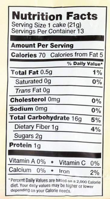 Rice Cakes Apple Cinnamon 9.5 Ounce 269 Gram