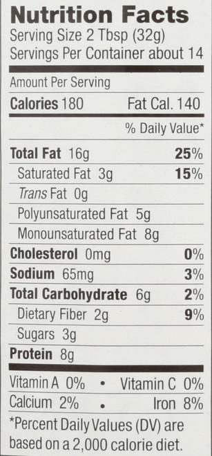 Peanut Butter  No Stir Chunky 16 Ounce 454 Gram