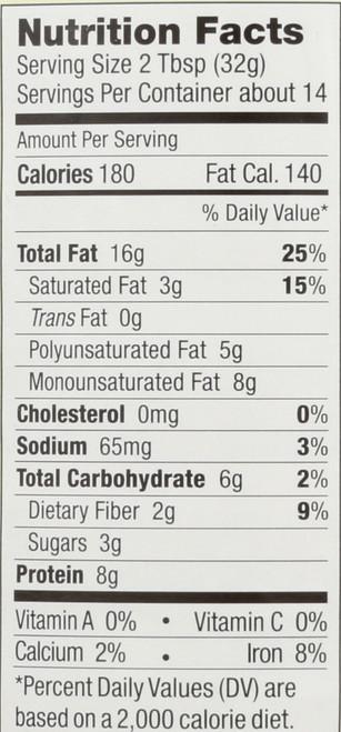 Peanut Butter No Stir Creamy With Salt 16 Ounce 454 Gram