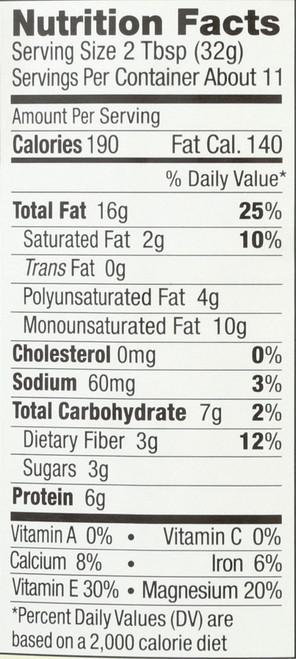Almond Butter Crunchy No Stir 12 Ounce 340 Gram