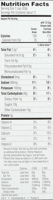 Mothers Cereal  Bumper Peanut Butter® 12.3 Ounce 349 Gram