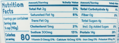 Cottage Cheese-Lowfat  16 Ounce 1 Pound