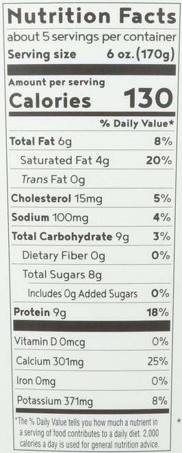 Yogurt Organic Whole Milk Yogurt Plain 32 Ounce 2 Pound