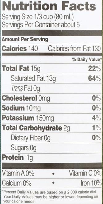 Coconut Milk Simple 13.5 Fl Oz  398 Milliliter