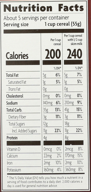 Np Lc Dark Choc Peanut Butter Cereal Cold Cearal 10 Ounce 284 Gram