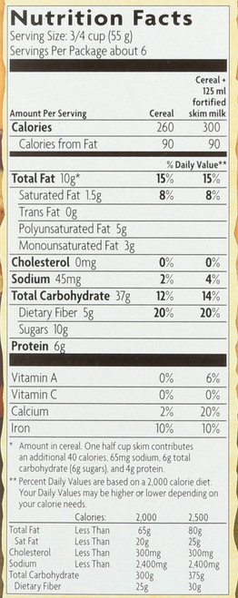 Granola Cereal Pumpkin Flax Granola 11.5 Ounce 325 Gram