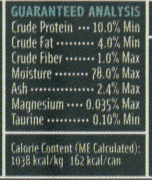 Canned Cat Food - All Stage Fish, Chicken & Liver Dinner 5.5 Ounce 156 Gram