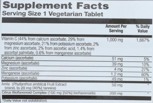 Vitamin C  60 Count