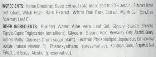 Horse Chestnut Cream 2Oz Horse Chestnut 2 Ounce 56.7 Gram