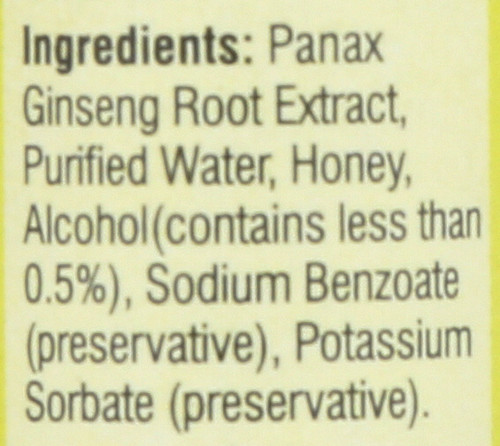 Red Panax Ginseng Extract Single Btl Oral Liquid 10 Count 0.34 Fluid Ounce