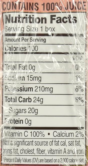 Juice Organic Apple Juice Box 4 Each 6.75 Fl Oz