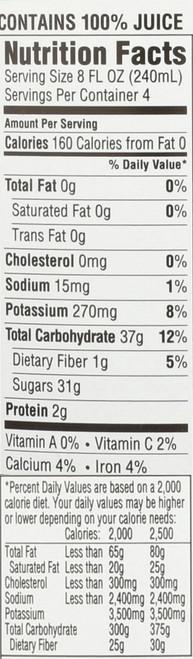 Juice Organic Just Concord 32 Fl Oz  1 Quart