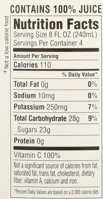 Juice Organic Apple 32 Fl Oz  1 Quart