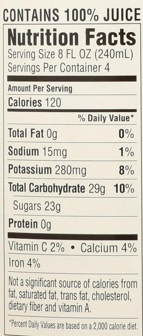 Juice Spiced Pear 32 Fl Oz  1 Quart