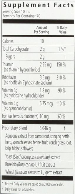 Floradix Iron Plus Herbs® Vegetarian Iron And Vitamins Supplement 23 Fluid Ounce 700 Milliliter
