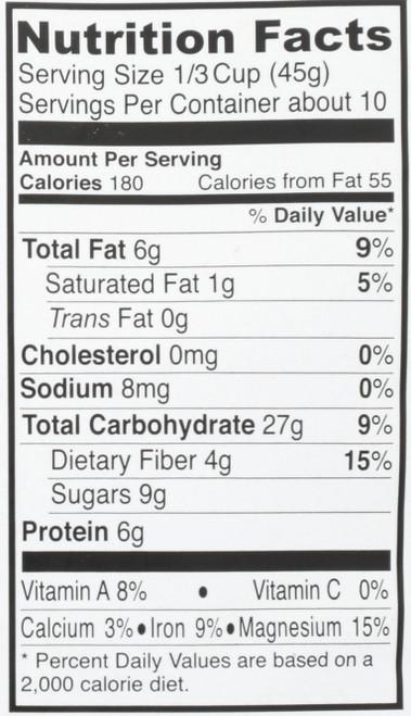 Seitenbacher Organic Muesli Usda Organic Muesli/ Cashew Almond 16 Ounce 16 Ounce