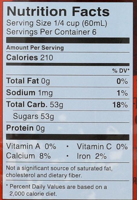 Pure Maple Syrup U.S. Grade A Dark 12.7 Fl Oz  375 Milliliter