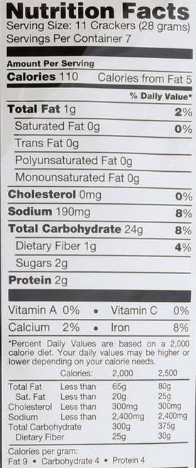 Pretzel Crisps Everything 7.2 Ounce 204 Gram