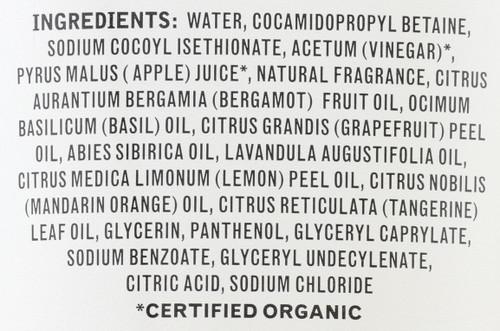 Body Wash Apple Cider Vinegar 9.5 Fluid Ounce 280 Milliliter