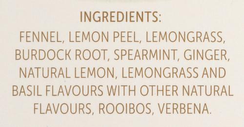 Renew Herbal Tea Burdock Root &  Fennel -  Lemon & Ginger 18 Count 1.27 Ounce